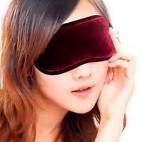 Турмалиновая повязка на глаза с магнитами