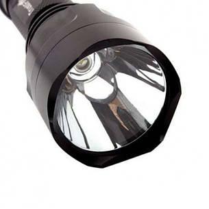 Фонарь TrustFire C8-T6 (Cree XM-L2, 1200 люмен, 1 режим, 1x18650), черный, фото 2