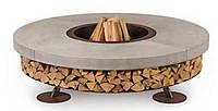 Ercole Сoncrete (Бетон) - Уличный дровяной гриль-камин. Италия, фото 1