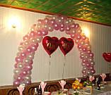 Весільні арки з повітряних та гелієвих кульок, фото 6