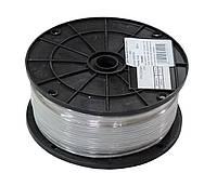 Трос в оплетке (в оболочке) ПВХ D=3 мм, DIN3055 (бухта 200 м. п.)