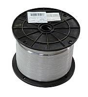 Трос в оплетке (в оболочке) ПВХ D=4 мм, DIN3055 (бухта 200 м. п.)