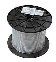 Трос в оплетке (в оболочке) ПВХ D=5 мм, DIN3055 (бухта 100 м. п.)