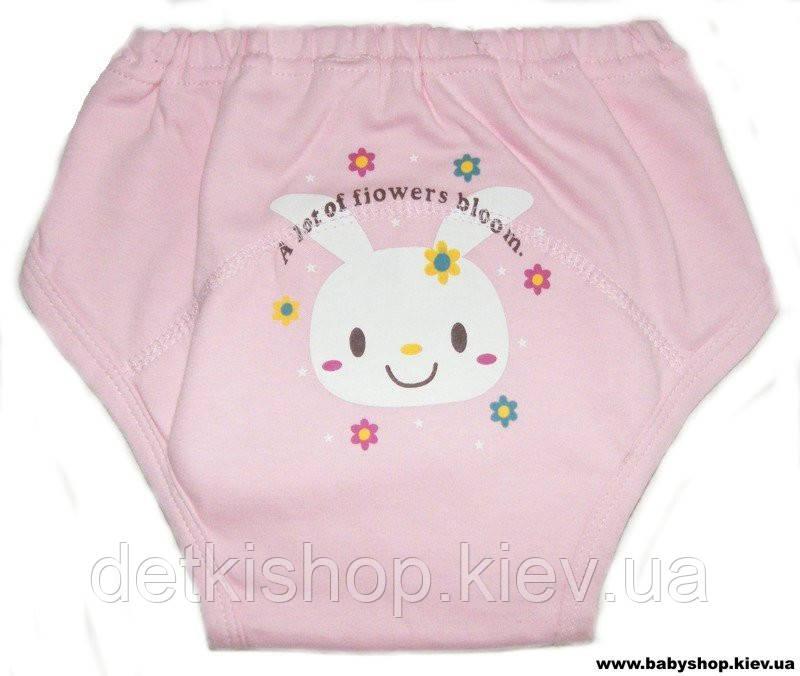 eb3b0aa851ac Тренировочные трусики для приучения к горшку (розовые с зайчиком) -  Интернет-магазин BabyShop