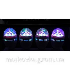 Диско лампа вращающаяся LED lamp для вечеринок LY-399 339