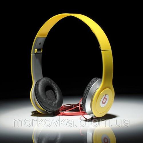 Наушники Monster Beats by Dr.Dre Solo HD Yellow ec26d5bb2a1a6