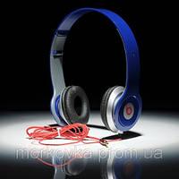 Наушники Monster Beats by Dr.Dre Solo HD Blue, Синие , фото 1
