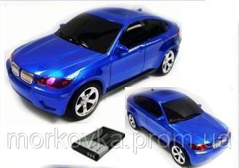 🔥✅ Портативная колонка MP3 USB BMW X6 blue, купить Синяя, TF, MicroSD, радио, FM