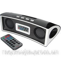 Портативная MP3 колонка от USB SD FM TY-02  White, TY02, TY 02, TF, MicroSD, радио, FM, SDHC, SD, Белая