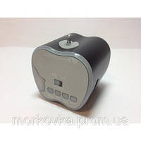 Мини портативная MP3 колонка Apple от USB T-2012, White,  AF17, AF 17, MicroSD, радио, FM, SDHC, Белая