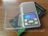 Карманные ювелирные весы 0,1 - 500 гр Domotec MH-500, Портативные, электронные 500гр