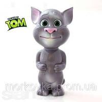 Интерактивная игрушка Сенсорный говорящий кот Том Talking Tom Cat, повторяет слова , фото 1