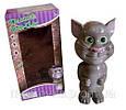 Интерактивная игрушка Сенсорный говорящий кот Том Talking Tom Cat, повторяет слова, фото 3