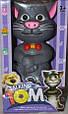 Интерактивная игрушка Сенсорный говорящий кот Том Talking Tom Cat, повторяет слова, фото 4