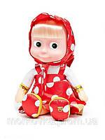 Кукла Маша 5 фраз и 1 песня из мультфильма маша и медведь 40 см , фото 1