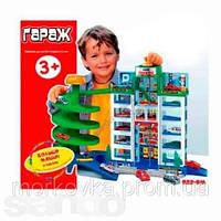 Детская игрушка Гараж паркинг с машинками №922, № 922 , фото 1