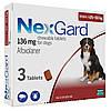 Merial NexGard - жевательная таблетка для защиты собак  25-50кг  (3таблетки)