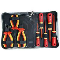 Набор отверток и плоскогубцев Pro'sKit PK-2801 с изолированными рукоятками, до 1000В, 8 штук