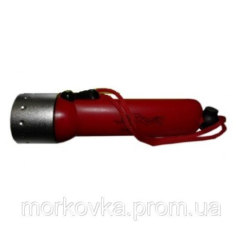 🔥✅ Подводный фонарь для дайвинга Red использованием светодиода CREE Q, фонарь Shallow Light,