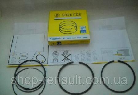 Кольца поршневые +0,5мм (комплект на 1 поршень) R1 80.0 Logan/MCV/Sandero/Duster MPI Goetze