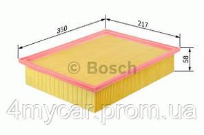 Повітряний фільтр 3536 volvo s80 2,0-2,9 98-06 (производство Bosch ), код запчасти: 1457433536
