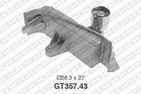 Натяжной ролик, ремень ГРМ Audi 06B109477A (производство NTN-SNR ), код запчасти: GT357.43