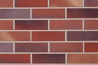 Клинкерный кирпич АВС 9105 Norddeich rot-blau sand-farben-bunt genarbt-besandet
