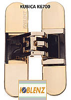 Петля скрытая  Kubica K6200 (Krona Koblenz), золото полированное