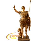 "Статуэтка FR-A101k ""Цезарь"" цвет золото  28см."