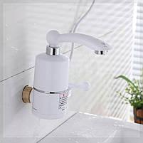 Проточный нагреватель воды в виде крана ( мини бойлер ) Water Heater электрический кран 220V, фото 3