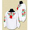 "Вышитая блуза для девочки "" Квіткова радість """