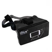 """Бюджетный 3D шлем виртуальной реальности для смартфонов с размером экрана 3.5-5.6"""" дюйма (модель IBLUE)"""