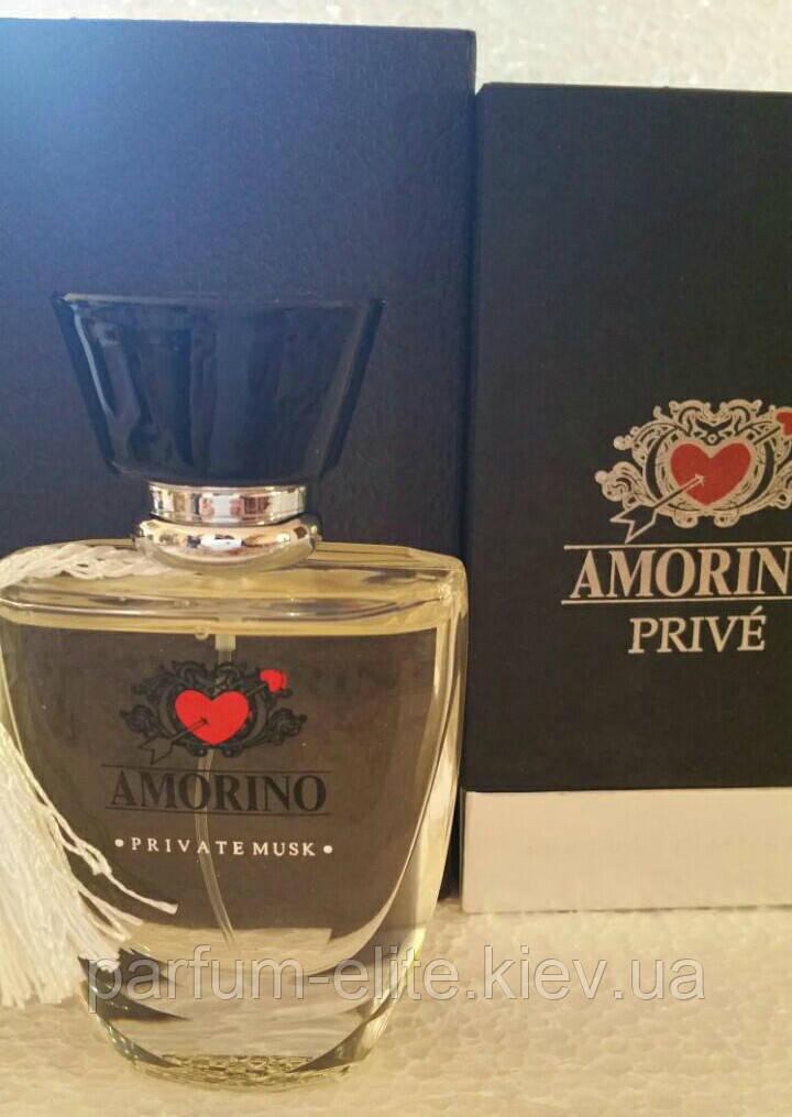 Нишевая парфюмированная вода унисекс Amorino Private Musk 50ml