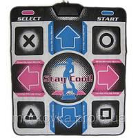 Танцевальный коврик usb для ПК PC Dance mat X-treme Dance Pad улучшенный с CD,