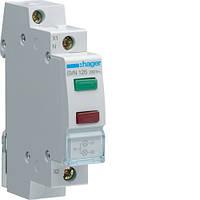 Индикатор двойной LED, 230В, зеленый и красный, 1м SVN126 Hager