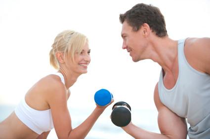 Гантели для фитнеса и аэробики