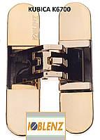 Петля скрытая  Kubica K6700 (Krona Koblenz), золото полированное