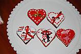 Пряники  для Дня Влюбленных на 14 февраля, фото 5