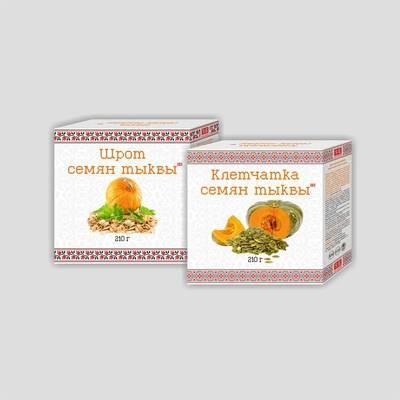 Клетчатка семян тыквы