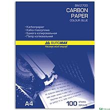 Бумага копировальная BM-2700, 100л. А4 синяя