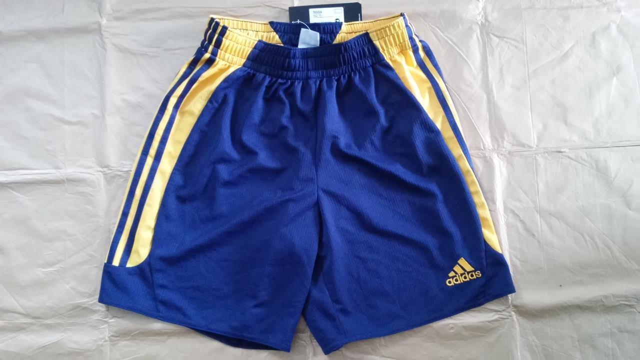 Шорты Adidas игровые сине-желтые 563324