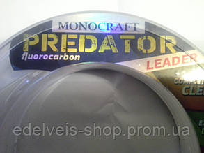 Леска флюорокарбон 100% Bratfishing Monocraft Fluorocarbon Predator Leader 50m  0,50, фото 2