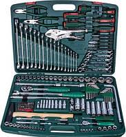 """Универсальный набор инструмента Hans 1/2"""" и 1/4"""" 158 предметов (ТК-158V)"""