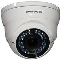 Видеокамера купольная SAV 33P с ИК подсветкой на 2 МП формата AHD