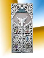 Царские врата  комплект с верхушкой,дерево Липа, фото 1
