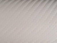 Виниловая пленка под карбон 3M 1080-CF10 Carbon Fiber White, фото 1