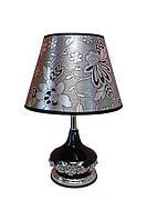 Интерьерная лампа сенсорная CL-15 стекло цвет белый 35 см.