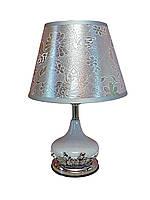Интерьерная лампа сенсорная CL-15 стекло цвет черный 35 см.