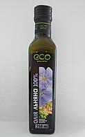 """Масло льняное 100% сыродавленное ТМ """"Eco Oliva"""", 250 г"""