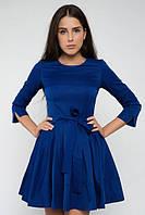 Стильное расклешенное платье, фото 1
